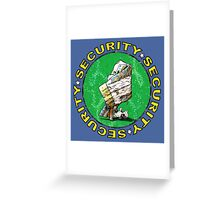 The Magical Security Blanket (blue) Greeting Card