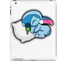 cute sleeping stitch iPad Case/Skin