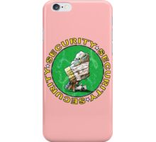 The Magical Security Blanket (pink) iPhone Case/Skin