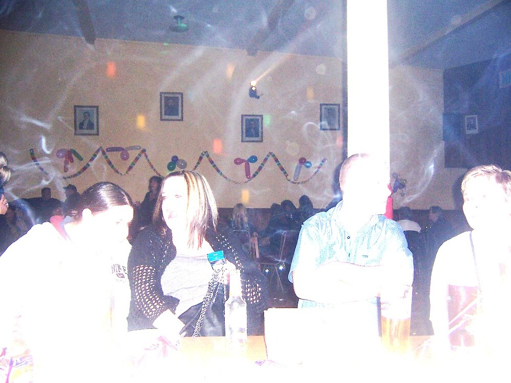 Ecto mist at the Christmas party by kimie