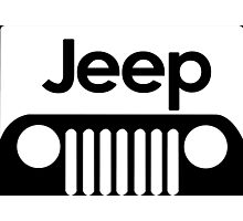 Jeep Funny Geek Nerd Photographic Print