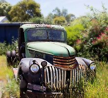 1946 Chevy - Abandoned by CarlaMarie  Photography