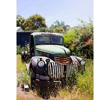 1946 Chevy - Abandoned Photographic Print