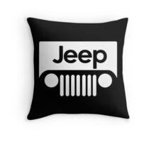 Jeep Funny Geek Nerd Throw Pillow