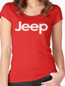 Jeep! Funny Geek Nerd Women's Fitted Scoop T-Shirt