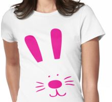 Easter Bunny Womens Fitted T-Shirt