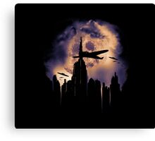 invasion of the foo fighters Canvas Print