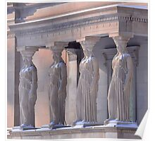 Stone Ladies Kissed By The Sunrise Poster