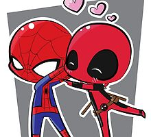 Spideypool by Kara Thattanaham