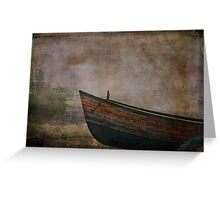 Beached Dinghy Greeting Card