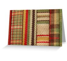 Contemporary Christmas - Soft Furnishings Greeting Card