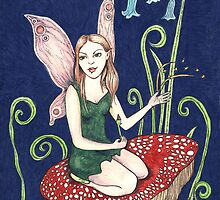 Emerald Fairy by Anita Inverarity