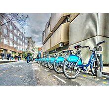 Borris Bikes Photographic Print