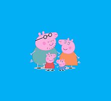 Peppa Pig Family by nicksala