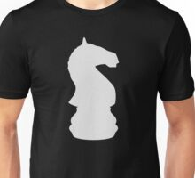 Knight - White Unisex T-Shirt