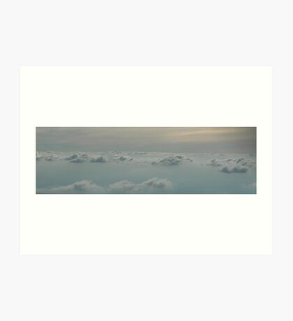 cloud layer Art Print