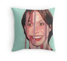 I construct and segment my perception to match my social and cultural environment. (Mary Tyler-Moore) Throw Pillow