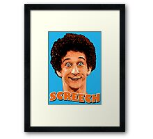 Screech By The Bell Framed Print