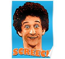 Screech By The Bell Poster