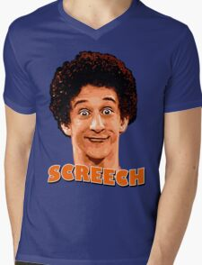 Screech By The Bell Mens V-Neck T-Shirt