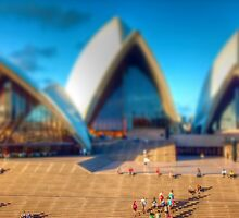 Sydney Opera House by missmoneypenny