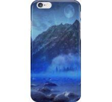 Blue Mist Rising iPhone Case/Skin