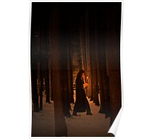 Wood Deep Woman  Poster