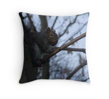 squiggel! Throw Pillow