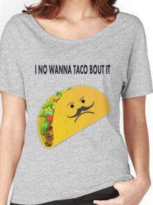 Taco Face Unhappy Pun Women's Relaxed Fit T-Shirt