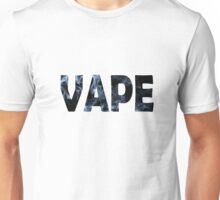 Vape/Vaping Text Merchandise Unisex T-Shirt
