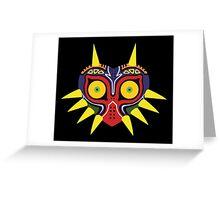 Majora's Mask (flat) Greeting Card