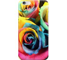 Colorful Bouquet of Rainbow Roses iPhone Case/Skin