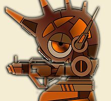 """Robo-kid""....as coloured by the Immaculate ""Toasted Ghost"" by atomikboy"