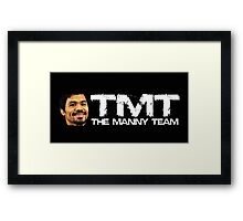 TMT The Manny Team - Pacquiao Vs Mayweather Shirt May 2nd Framed Print