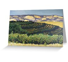 Rosemount Vineyards, McLaren Vale SA Greeting Card