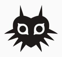 Majora's Mask (Solid, black) Kids Clothes