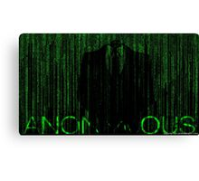 Anonymous  Canvas Print