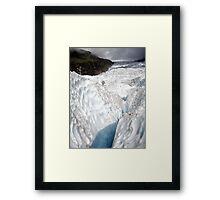 Fox Glacier Framed Print