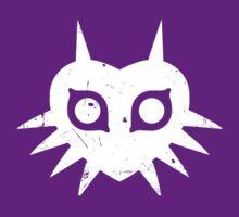 Majora's Mask (Grunge, white) by hopperograss