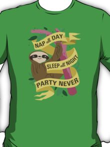 Wise Sloth T-Shirt