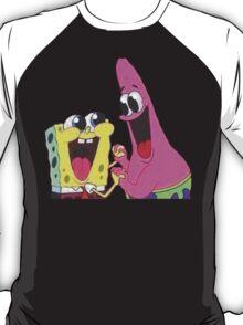 Sponge bob and Patrick happy as ever T-Shirt