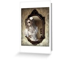 The Hollow Eyed Bride Greeting Card