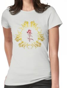 Roses Intertwined Womens Fitted T-Shirt