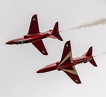 Red Arrows by David Charlton
