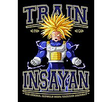 DBZ - Train Insayan Capsule Corp. Academy Photographic Print