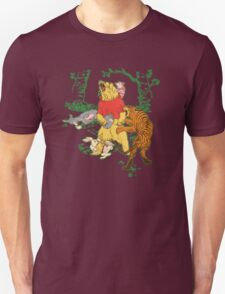 Winnie the Pooh bear gone crazy T-Shirt