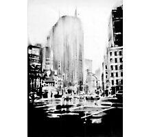 ny street Photographic Print