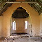 Inside the Ruined Church by Arthur Richardson