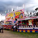 Sideshow Alley, Grenfell Show by Arthur Richardson