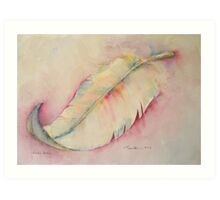 Exotic Feather Art Print
